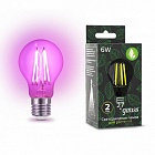 Лампа Gauss LED Fito Filament A60 6W E27 1/50 102802906
